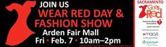 Join Sutter Heart and Vascular Institute at Arden Fair for Wear Red Day, February 7. As a local sponsor of the Go Red For Women initiative since its launch in Sacramento, we have taken this movement to heart, literally providing health screenings to more than 4,000 people and educating thousands more. Show your support by making your Go Red pledge today and sharing it on your wall. Tell us, how will you Fight Heart Disease this year. http://www.checksutterfirst.org/heartandvascular/go-red/