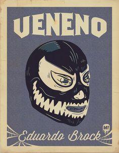 Venom, luchador, lucha libre, Eddie Brock, Marvel