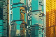 Hiper-realidade cromática em espaço urbano | P3