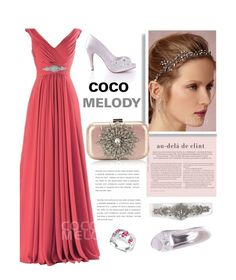 """Bridesmaid dress"" by merima-kopic ❤ liked on Polyvore featuring wedding and Cocomelody"