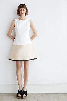 Gold-Dipped Mini Dress