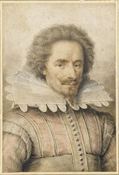 """Portrait of a Gentleman"" by Daniel Dumoustier (1615)"