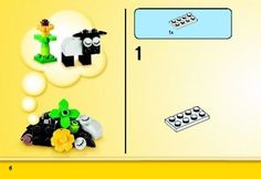 Bauanleitungen LEGO - Classic - 10692 - LEGO® Bausteine - Set: Page 1