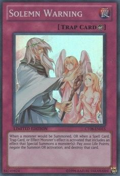Yu-Gi-Oh! - Solemn Warning (CT08-EN01... $0.01 #bestseller
