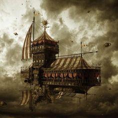 La Parade Monstrueuse / steampunktendencies