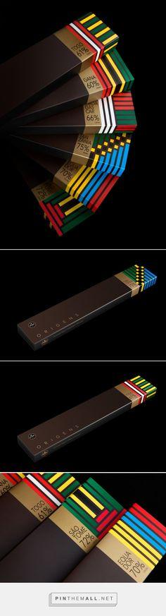 Origens #Chocolate #packaging by António Queirós Design - http://www.packagingoftheworld.com/2015/01/origens-chocolate.html