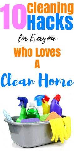10 Cleaning Hacks for everyone Who loves a clean home, try this cleaning hacks
