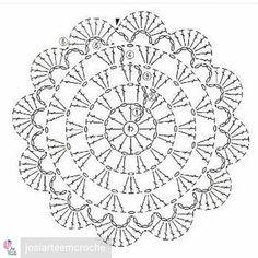 Best 12 How to Crochet Shrug – (Lion Brand Pattern) – Crochet Amigurumi Free Crochet Doily Patterns, Crochet Placemats, Crochet Coaster Pattern, Crochet Symbols, Crochet Diagram, Crochet Chart, Crochet Motif, Crochet Designs, Crochet Stitches