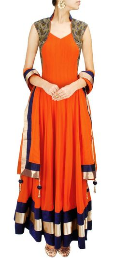 Queen Anne With A Scoop neck for anarkali salwar suit and kurti