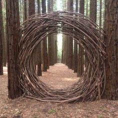 mondtor-aus-naturholz-natural-wood-moon-gate-mondtor-naturholz-this-imag/ - The world's most private search engine Land Art, Dream Garden, Garden Art, Garden Poems, Garden Drawing, Garden Gates, Herb Garden, Garden Plants, Art Et Nature