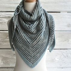 NobleKnits Knitting Blog: What to Knit with Manos Serena Yarn? A Free Pattern!
