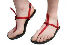 Bedrock sandals.