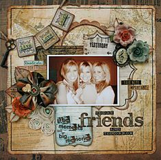 Friends **New Bo Bunny** - Scrapbook.com