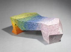 design en couleur,Table Iris, Mattia Bonetti