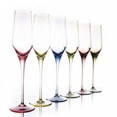 PRODUCTS :: LIVING AND DESIGN :: Kitchen :: Sets :: Sera-Irida, набор бокалов для шампанского флюте (6 шт.)