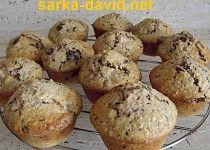 Hruškové muffiny s čokoládou Breakfast, Food, Breakfast Cafe, Essen, Yemek, Meals