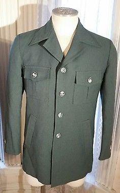 da1d8c82aca0 Vintage Anderson Little Black Label Russian Green Sport Coat Jacket USA  Made HOT