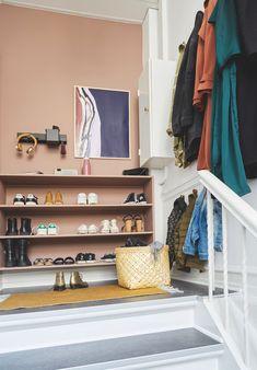 Artwork For Home Decoration Hallway Inspiration, Interior Inspiration, Shop Interiors, Hallway Decorating, Beautiful Interiors, Interior Design Living Room, Home Goods, Bedroom Decor, House Design