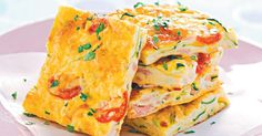 Liven up the lunch-box with this tasty and healthy frittata.