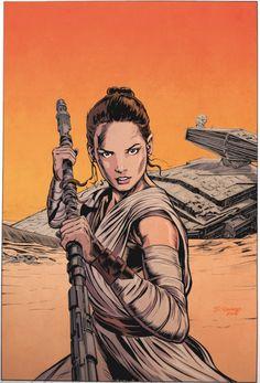 Rey color warm up. Drawn by Star Wars Fan Art, Reylo, Live Long, Science Fiction, Favorite Tv Shows, Target, Sketch, Comic Books, Geek