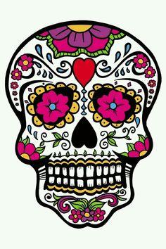 dia de los muertos skulls dia de los muertos skull 2 by