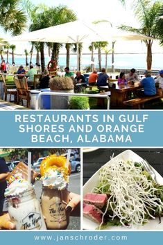 Where to Eat and Drink: Restaurants in Gulf Shores and Orange Beach. Picnic in the shade right on the sand at The Gulf. #girlonthego #travel #travelblogger #traveller #traveltips #adventure #destination #place #alabama #gulf #gulfshore #picnic #restaurants