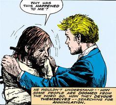 Gary Lester and John Hellblazer Comic, Bucket Brigade, John Constantine, Constantino, Chaotic Neutral, Comic Character, Dark Art, Supernatural, Dc Comics