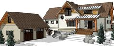 Meet The Joe Coffee....a strong and hearty Timberbuilt. http://www.timberbuilt.com/building_plan/timber_frame_homes_the_joe_coffee_timberbuilt/index.html