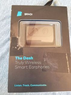 Bragi The Dash Truly Wireless Smart Earphones in Consumer Electronics, Portable Audio & Headphones, Headphones | eBay!