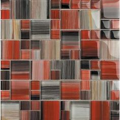 Contempo Abbott-1675 Mosaic Glass 4 in. x 4 in. Sample Swatch Mesh Mounted Tile-ABBOTT SAMPLE at The Home Depot