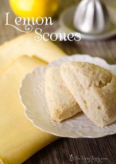 An amazing lemon scones recipe #lemon #recipe #lemonscones #scones