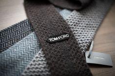 Tom Ford knit ties.