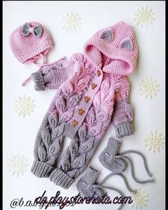 520 Likes, 36 Comments - Loose . 520 Likes, 36 Comments - Loose . 520 Likes, 36 Comments - Loose How To Start Knitting, Knitting For Kids, Crochet For Kids, Knit Crochet, Crochet Ideas, Knit Baby Dress, Knitted Baby Clothes, Baby Cardigan, Baby Boy Knitting Patterns