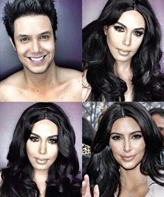 Paolo Ballesteros Undergoes Makeup Metamorphoses #popculture trendhunter.com