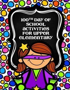 This packet includes 4 different activities to use with upper elementary classes on the 100th day of school:- Write 100 parts of speech- Write 100 words longer that 4 letters- Get the number 100 using multiplication, division, addition, or subtraction- Write a story that is only 100 words longHope you...Enjoy life.