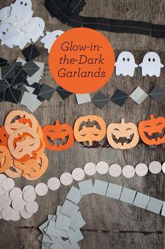 DIY Halloween : DIY Halloween Garlands