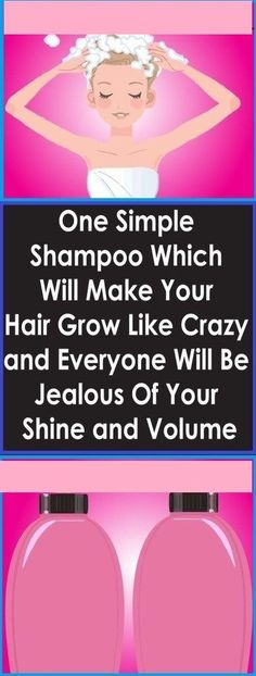 One Simple Shampoo Which Will Make Your Hair Grow Like Crazy and Everyone Will Be Jealous Of Your Shine and Volume! Biotin Hair Growth, Hair Growth Shampoo, Vitamins For Hair Growth, Hair Growth Charts, Hair Growth Tips, Hair Remedies For Growth, Hair Loss Remedies, Simple Shampoo, Dark Roots Hair
