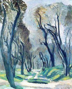 Henri Matisse - Avenue of olive trees