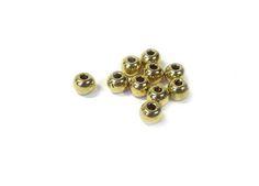 Metalen  kraal rond ± 4mm( 10 st) 25058www.beadscreations.nl