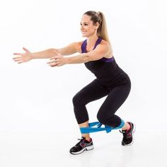 Use a resistance band to get a tight, toned and lifted butt! Use these 7 moves to create a booty workout circuit at the gym. Exercises such as deadlifts and leg lifts are made more challenging with a resistance band to really work your glute muscles.