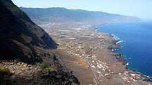El Hierro - Valle de El Golfo, en el municipio de Frontera.