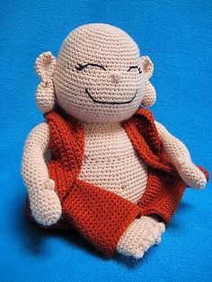 Ravelry: Laughing Buddha Amigurumi Monk Doll pattern by Millionbells