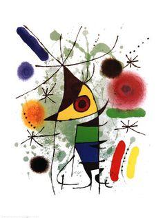 Joan Miró - The Singer