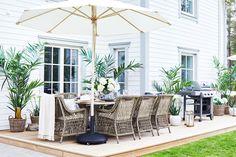 Outdoor Spaces, Outdoor Living, Outdoor Decor, Coastal Gardens, Terrace Garden, Newport, Back Gardens, New England, Outdoor Furniture Sets