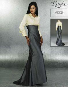 Landa Modest Bridesmaid Dresses Style - Style A008 [A008]