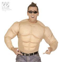 """Oberteil """"Muskelprotz"""" #junggesellenabschied #stagdoo #hendoo #mann #frauen #ideen #fotoshooting #spiele #männer #spruch #aufgaben #braut #geschenk #deko #erinnerung #accessoires #falksson #kostüm #bräutigam #bauchladen"""