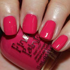 Finger Paints Flip Flop Fuchsia