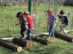 el jardí de la llar d'infants les baldufes.Olot