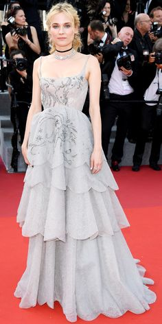 All the Celebrity Looks from the 2017 Cannes Film Festival Red Carpet - Diane Kruger from InStyle.com