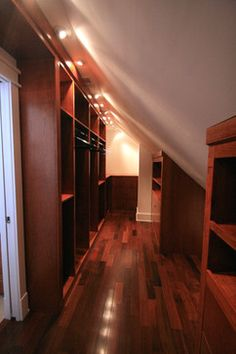 Potomac Bathroom/Walk-in Closet traditional closet